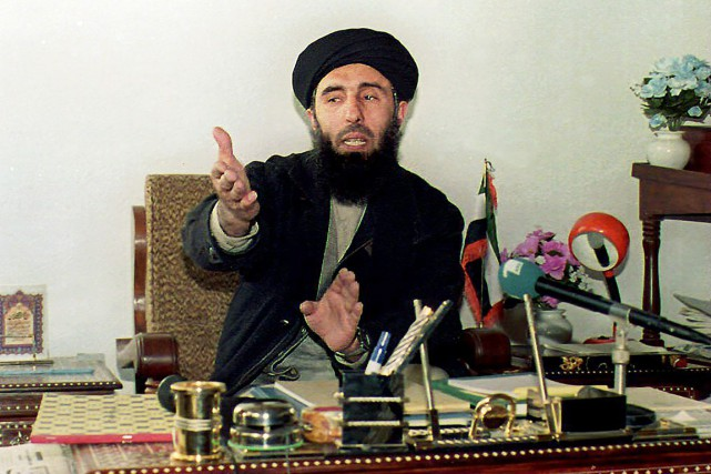 Gulbuddin Hekmatyar, photographié en janvier 1994, en banlieue... (PHOTO SAEED KHAN, ARCHIVES AFP)