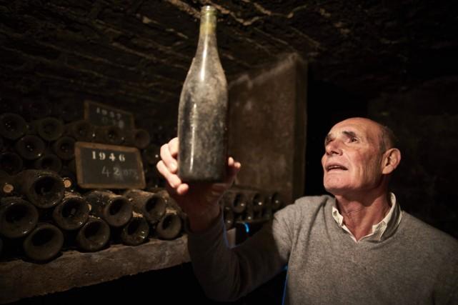 Ce domaine des Lambrays, Thierry Brouin (notre photo)... (PHOTO JEAN-PHILIPPE KSIAZEK, AFP)