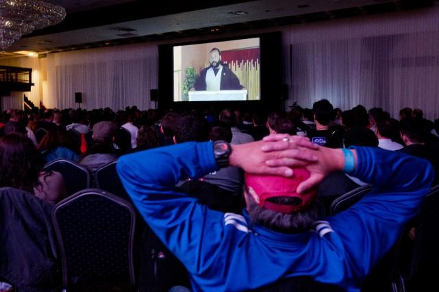 L'humoriste Dieudonné a présenté un spectacle diffusé sur... (PHOTO OLIVIER JEAN, LA PRESSE)