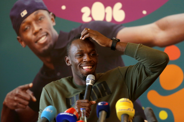 Usain Bolt participera au 100 mètres de la... (Photo David W Cerny, Reuters)