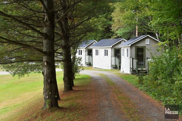 Situé sur les rives du lac Stoke, le camp St-Pat's sera transformé en une... (Spectre Média, Jessica Garneau)