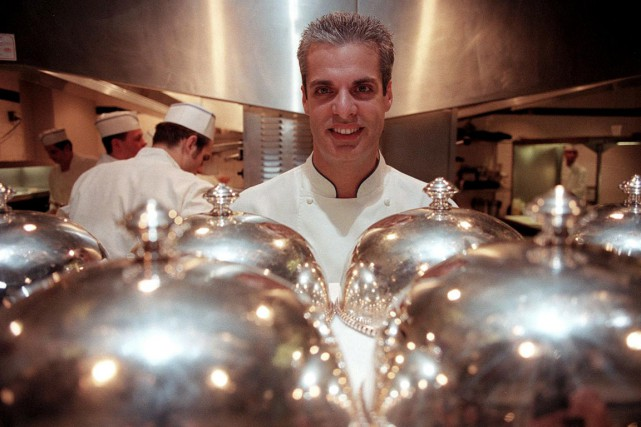 Le chef du Bernardin, Éric Ripert.... (PHOTO LIBRADO ROMERO, THE NEW YORK TIMES)