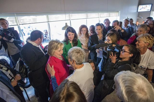 Dans le clan de Hillary Clinton, par peur... (AP, Ryan Hermens)