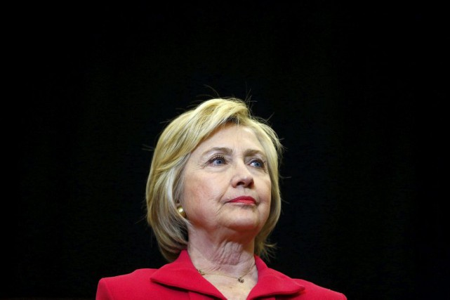 Hillary Clinton... (PHOTO AARON P. BERNSTEIN, REUTERS)