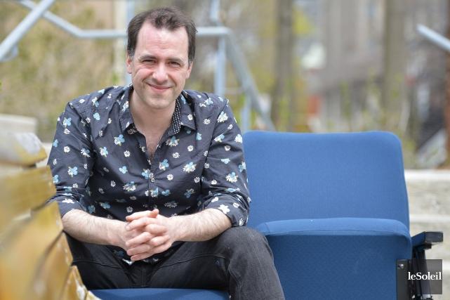 Jean-Philippe Joubert,directeur artistique deNuages en pantalon, a été... (Le Soleil, Yan Doublet)