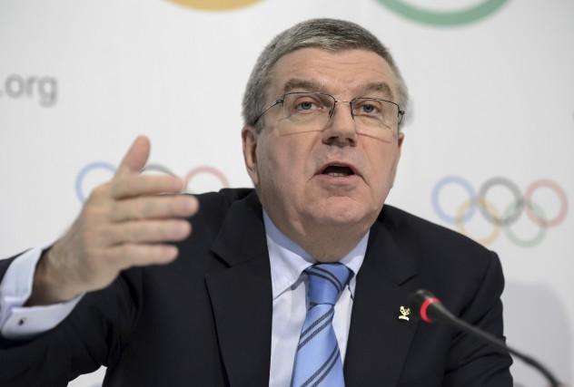 Échaudé par les allégations visant les JO de... (AFP, Fabrice Coffrini)