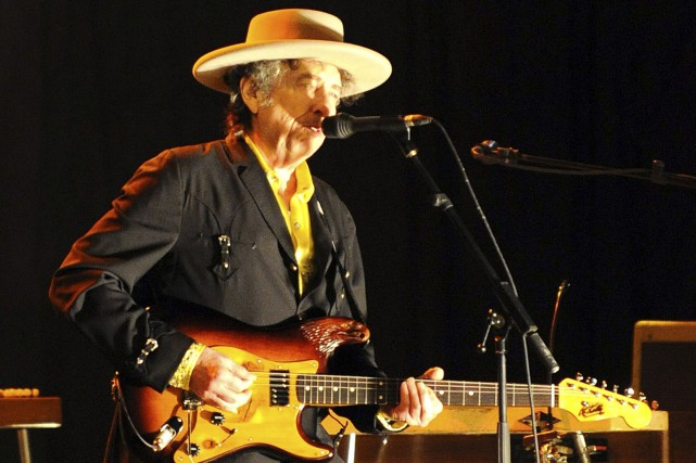 Dans son nouvel album, Bob Dylan interprète des... (PHOTO ARCHIVES AFP)