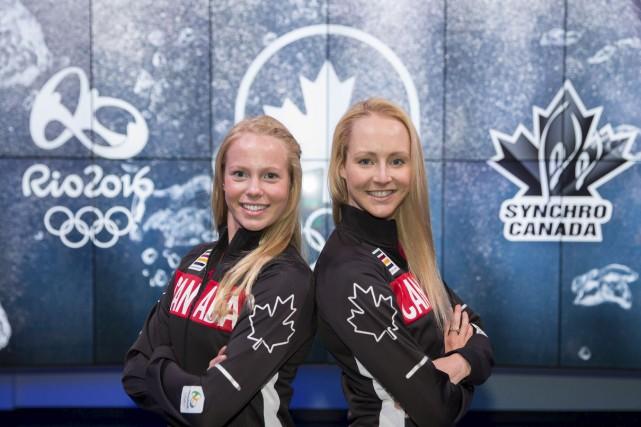 Le tandem formé de Jacqueline Simoneau et Karine... (Courtoisie, Comité olympique canadien)