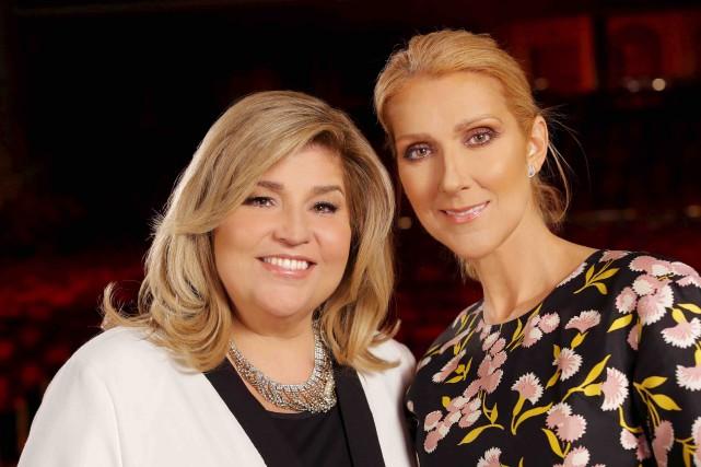 Marie-Claude Barrette et Céline Dion... (Fournie par TVA)
