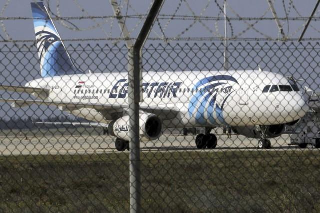 Un avion d'Egyptair parti mercredi soir de Paris à destination du Caire a... (Photo Yiannis Kourtoglou, archives Reuters)