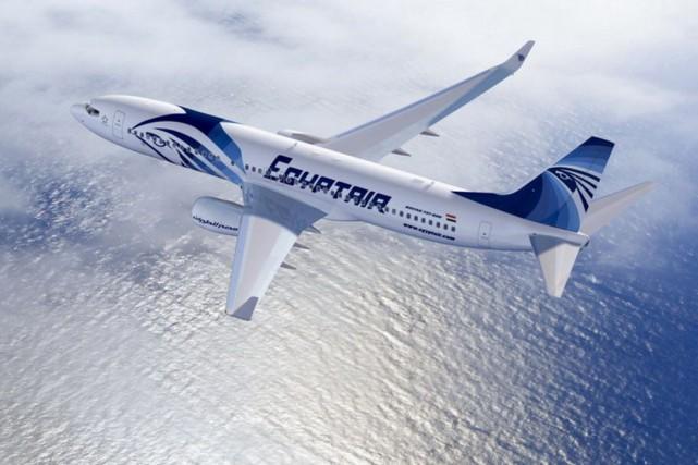 Un avion d'Egyptair... (Tirée du site Internet d'EgyptAir)