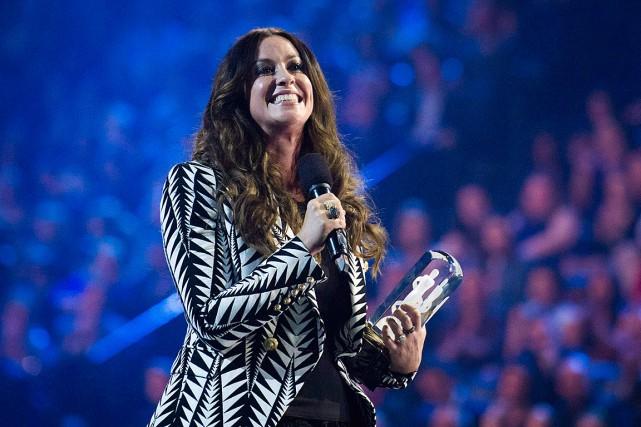 La chanteuse Alanis Morissette a été intronisée au... (Photo Nathan Denette, archives PC)