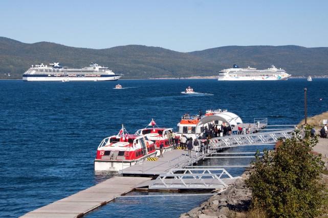Pour la saison 2016, 29escales de navires sont... (Photo fournie par la Corporation Escale Gaspésie)