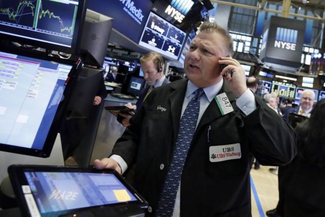 La déprime de Wall Street «est avant tout... (Photo Richard Drew, AP)