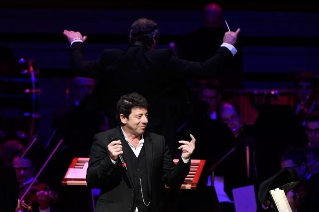Patrick Bruel, hier soir, à la Maison symphonique... (Photo Bernard Brault, La Presse)