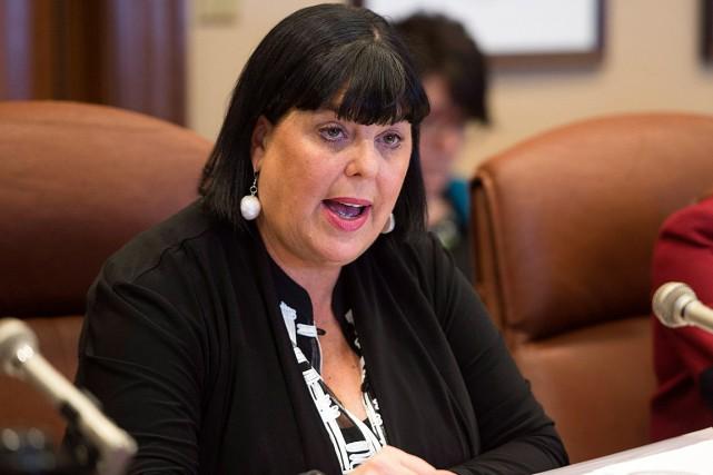 Dominique Savoie, sous-ministre des Transports, a été démise... (PHOTO JACQUES BOISSINOT, ARCHIVES LA PRESSE CANADIENNE)