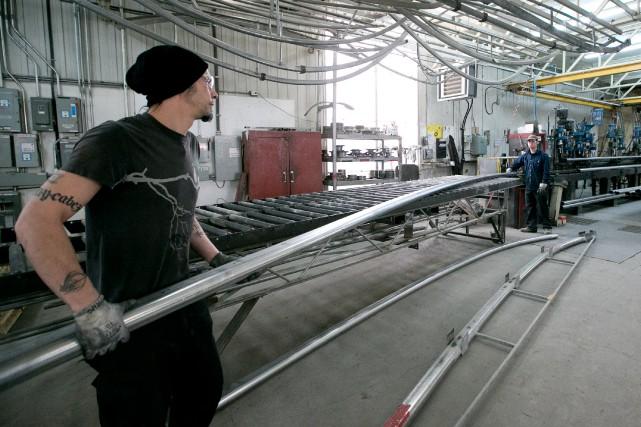 Le repli des ventes de fabricants québécois est... (Photo Hugo-Sébastien Aubert, Archives La Presse)
