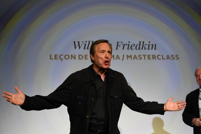 Le réalisateurWilliam Friedkin a animé une leçon de... (Photo Anne-Christine Poujoulat, AFP)