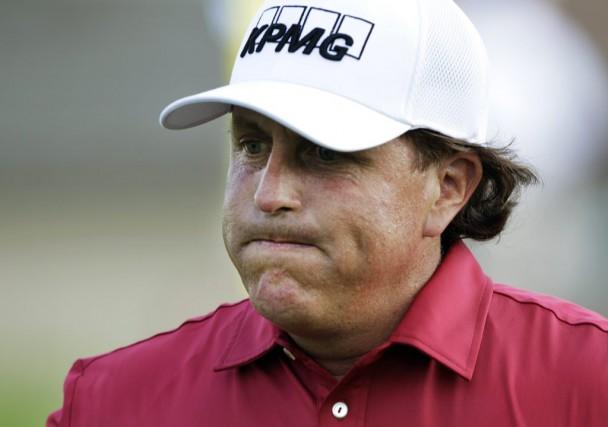 Le golfeur Phil Mickelson,vainqueur de plusieurs titres majeurs,... (Photo Jay LaPrete, archives AP)