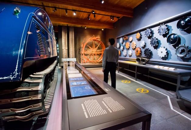 L'ouverture officielle du Musée de l'ingéniosité J. Armand... (Photo Spectre Média, Jessica Garneau)
