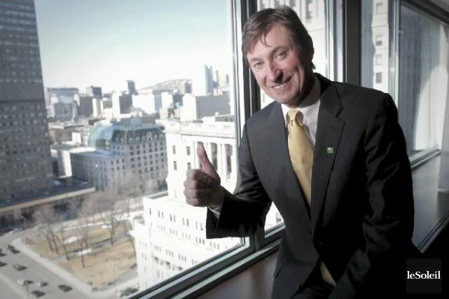 Wayne Gretzky pourrait venir encourager son fils, Trevor,... (Photothèque Le Soleil)