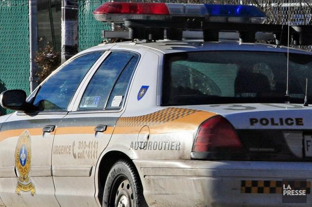Le policier de la Sûreté du Québec (SQ) Nicolas Landry a été de nouveauarrêté. (Photo d'archives)