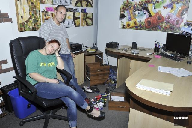 Les bureaux de Jim & Jane Productions ont... (Photo Le Quotidien, Rocket Lavoie)