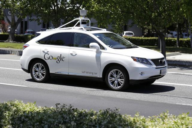 Le brevet déposé par Google permettrait d'enduire le... (Archives AP)