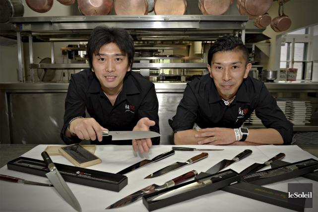 Les frères Tomohiro et Masanobu Hasegawa sont venus... (Le Soleil, Pascal Ratthé)