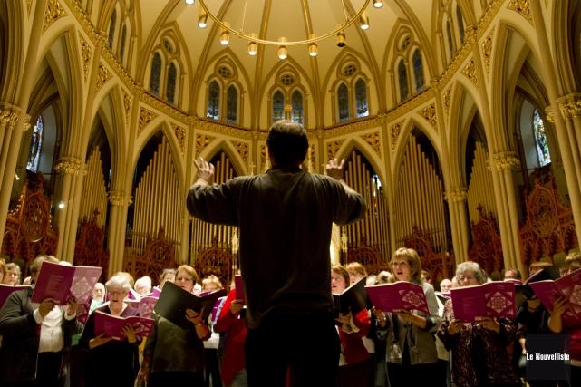 Le choeur de l'Orphéon célèbre cette année ses... (Photo: Sylvain Mayer Le Nouvelliste)