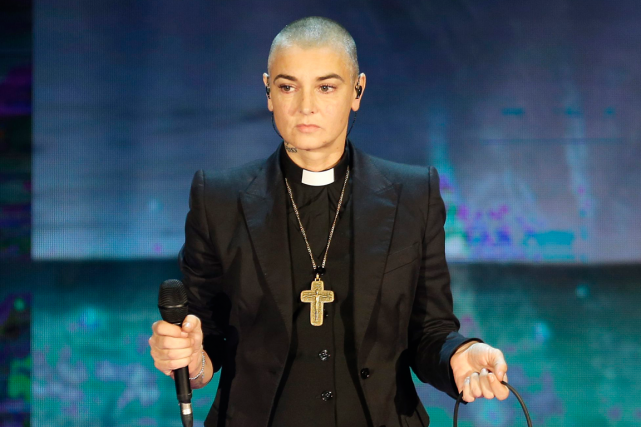 Sinead O'Connor... (Photo Antonio Calanni, archives AP)