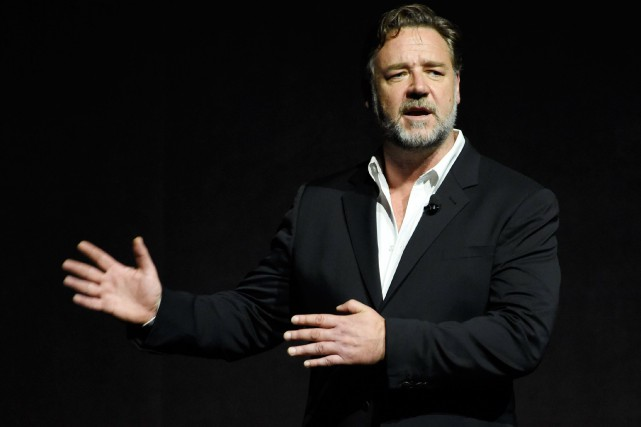 L'acteur Russell Crowe est natif de la Nouvelle-Zélande,... (Photo Chris Pizzello, archives Associated Press)