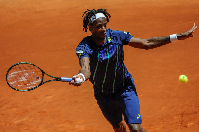 Gaël Monfils... (Photo Pedro Armestre, AFP)