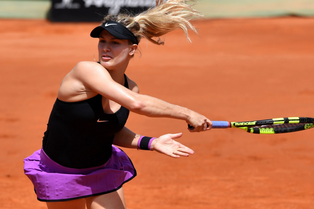 Eugenie Bouchard... (Photo Tiziana Fabi, AFP)