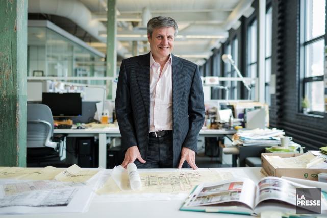Louis T. Lemay est président de la firme... (PHOTO EDOUARD PLANTE-FRÉCHETTE, ARCHIVES LA PRESSE)