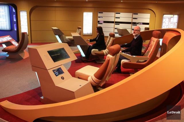 L'exposition Star Trek: l'expérience Académie de Starfleet, au... (PHOTO PATRICK WOODBURY, LeDroit)