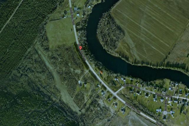 Le projet résidentiel Le Vert-Bois des Laterrois est... (Googlemap)