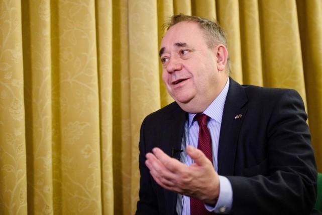 L'ancien premier ministre d'Écosse (2007-2014) Alex Salmondfut le... (PHOTO LEON NEAL, AFP)
