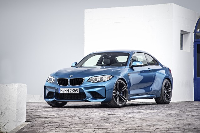 BMW M2 2016... (PHOTO FOURNIE PAR BMW)