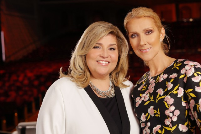 Céline Dion s'est confiée à Marie-Claude Barrette sur... (Photo fournie par TVA)