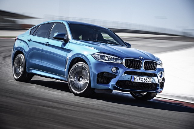 BMW X6 M 2016... (PHOTO FOURNIE PAR BMW)