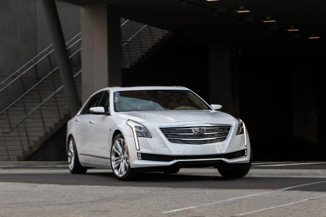 Cadillac CT6... (PHOTO FOURNIE PAR CADILLAC)
