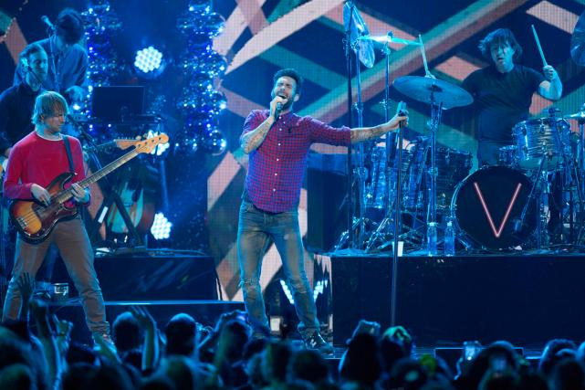 Le groupe Maroon 5 devrait se produire à... (Photo Andrew Kelly, archives Reuters)