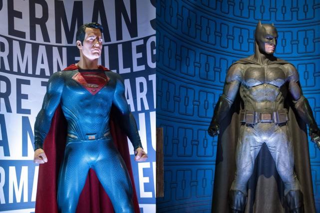 Une nouvelle exposition consacrée aux héros de DC... (PHOTO FOURNIE PAR WARNER BROS STUDIO HOLLYWOOD)