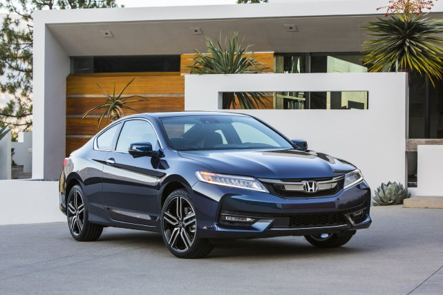 Honda Accord coupé 2016... (PHOTO FOURNIE PAR HONDA)