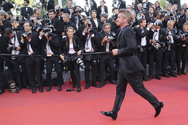 Sean Penn fuit-il les critiques négatives envers son... (Agence France-Presse, Valery Hache)