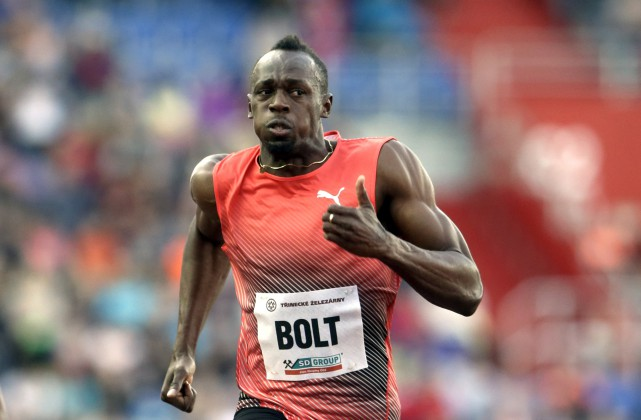 Usasint Bolt a remporté le 100 mètres de... (Associated Press)