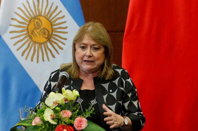 La ministre argentine des Affaires étrangères Susana Malcorra... (Photo Kim Kyung-Hoon, Reuters)