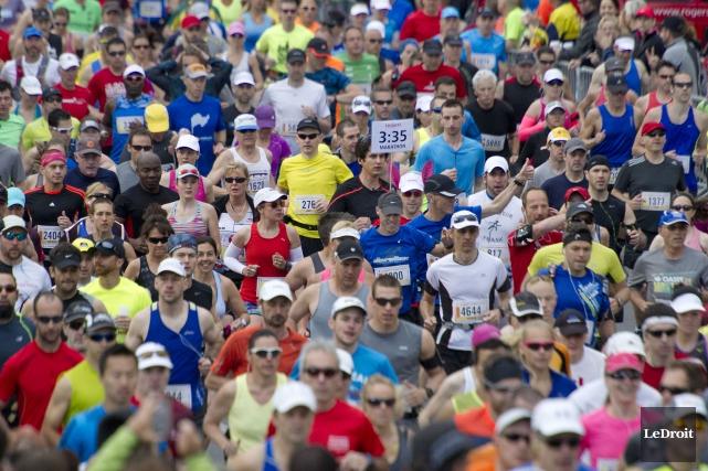 Près de 200 coureurs provenant de dix municipalités... (Archives, Le Droit)