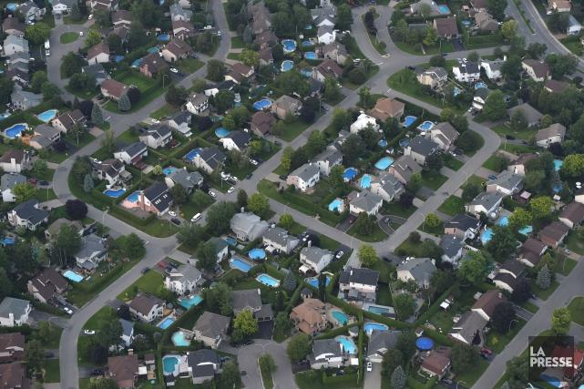 Pour la plupart des gens qui rêvent d'acheter une maison, l'assurance prêt... (Photo Bernard Brault, Archives La Presse)